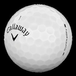 Мячи для гольфа Callaway SuperSoft 19 белые