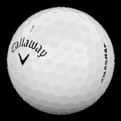 Мячи для гольфа Callaway SuperSoft MAGNA белые