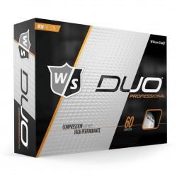 Мячи для гольфа Wilson Staff Duo Professional белые