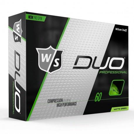Мячи для гольфа Wilson Staff Duo Professional Matte зеленые