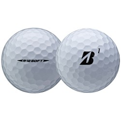 Мячи для гольфа Bridgestone E12 Soft белые