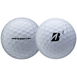 Мячи для гольфа Bridgestone E12 Soft белые
