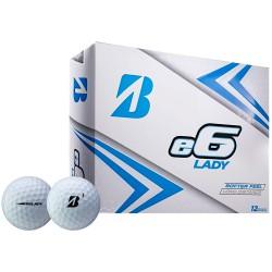 Мячи для гольфа Bridgestone e6 2019 белые женские