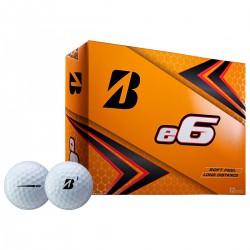 Мячи для гольфа Bridgestone e6 2019 белые