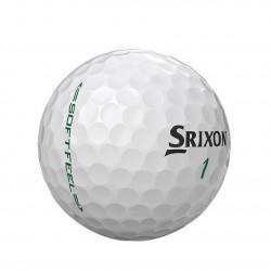 Мячи для гольфа Srixon SOFT FEEL 19 белые