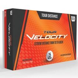 Мячи для гольфа Wilson Tour Velocity Distance белые