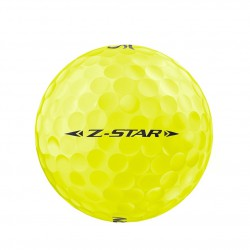 Мячи для гольфа Srixon Z-STAR 19 Spinskin желтые