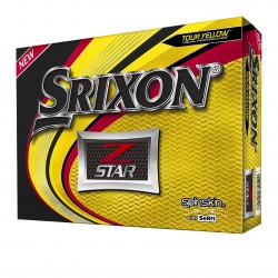 Мячи для гольфа Srixon Z-STAR 19 Spinskin желтые