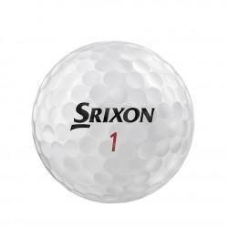 Мячи для гольфа Srixon Z-STAR XV 19 Spinskin белые