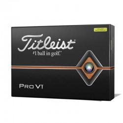 Мячи для гольфа Titleist Pro V1 желтые