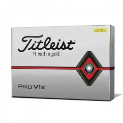Мячи для гольфа Titleist Pro V1X желтые