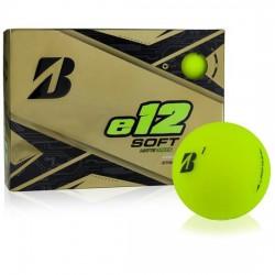 Мячи для гольфа Bridgestone E12 Soft Matte зеленые
