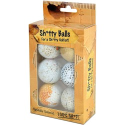 Мячи для гольфа Sh*tty Balls белые
