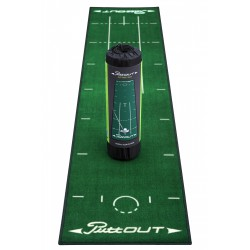 Гольф дорожка PUTTout 2.4 м зеленый