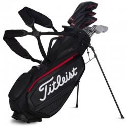 Бэг для гольфа Titleist Jet Black Premium на ножках