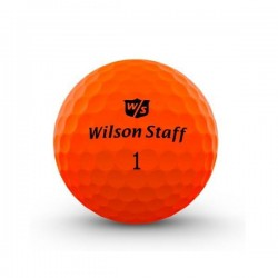 Мячи для гольфа Wilson Wilson Staff Duo Optix оранжевые