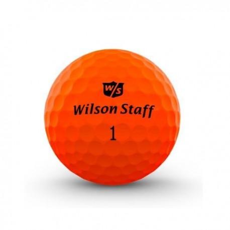 Мячи для гольфа Wilson Wilson Staff Duo Optix оранжевые