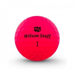 Мячи для гольфа Wilson Wilson Staff Duo Optix розовые
