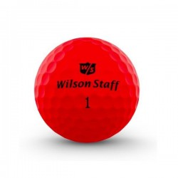 Мячи для гольфа Wilson Wilson Staff Duo Optix красные