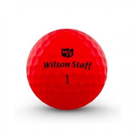 Мячи для гольфа Wilson Wilson Staff Duo Optix красные