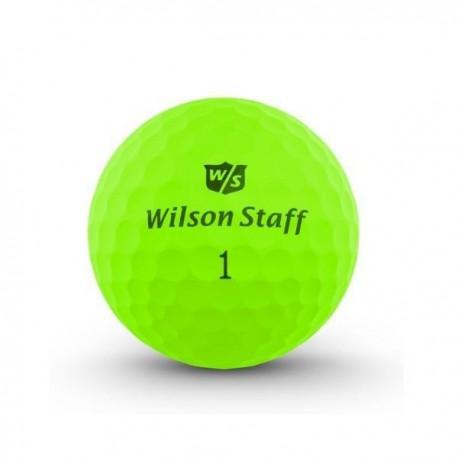 Мячи для гольфа Wilson Wilson Staff Duo Optix зеленые