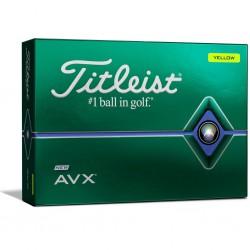 Мячи для гольфа Titleist AVX 20 желтые