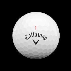 Мячи для гольфа Callaway Chrome Soft 20 белые