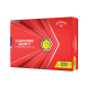 Мячи для гольфа Callaway Chrome Soft Triple Track 20 желтые
