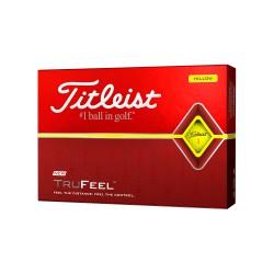 Мячи для гольфа Titleist TruFeel желтые