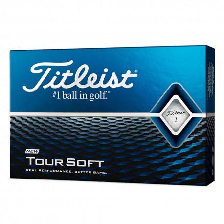 Мячи для гольфа Titleist Tour Soft 2020 белые