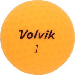 Мячи для гольфа Volvik Vimat Soft оранжевые