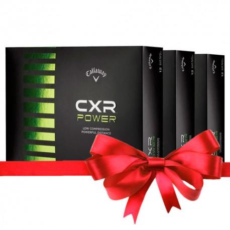 Callaway CXR Soft набор из 3 упаковок с печатью
