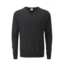 Свитер Ping Warren V-neck Merino черный